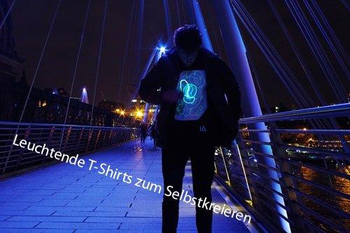 Leuchtende T-Tshirt-min