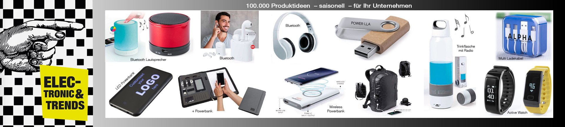 Technologie Trends von JAN Promotion