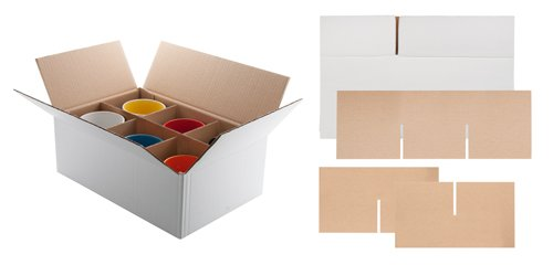 """""""Sixpack"""" Verpackung für Tassen"""