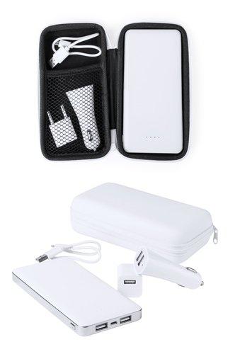 """Atazzi"" USB Powerbank und Ladegerät"