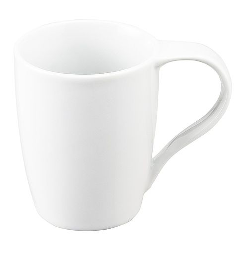 Kaffeetasse Beate, weiß