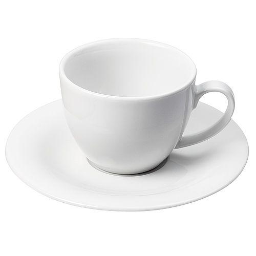 Kaffeetasse Café au lait, weiß