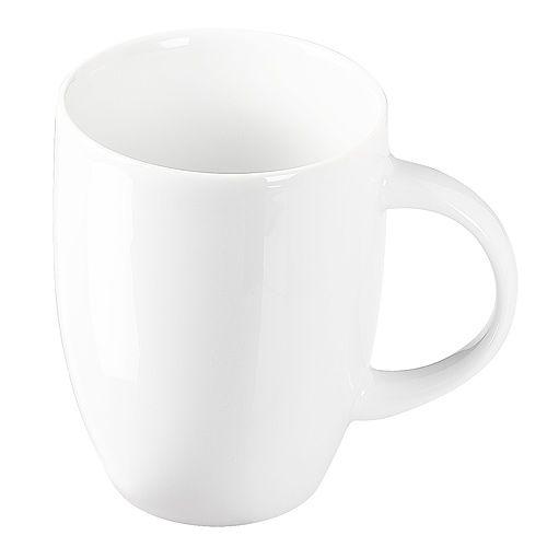 Kaffeetasse Rosa, weiß