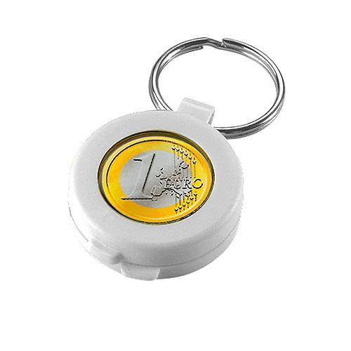 Chip-Schlüsselanhänger Safe, weiß