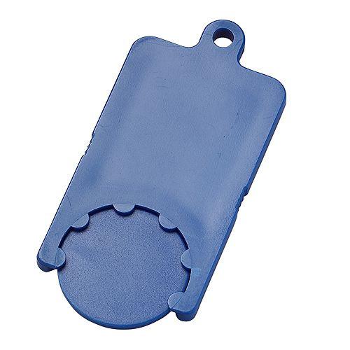 Chip-Schlüsselanhänger Rectangle, weiß
