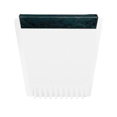 Eiskratzer Logo, weiß