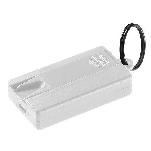 Schlüsselanhänger-Box Anti-Zecke, weiß