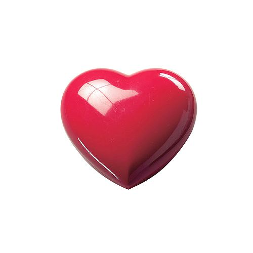 Deko-Dose Mini-Herz, rot