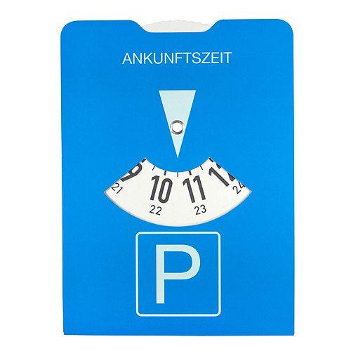Papp-Parkscheibe Board, blau