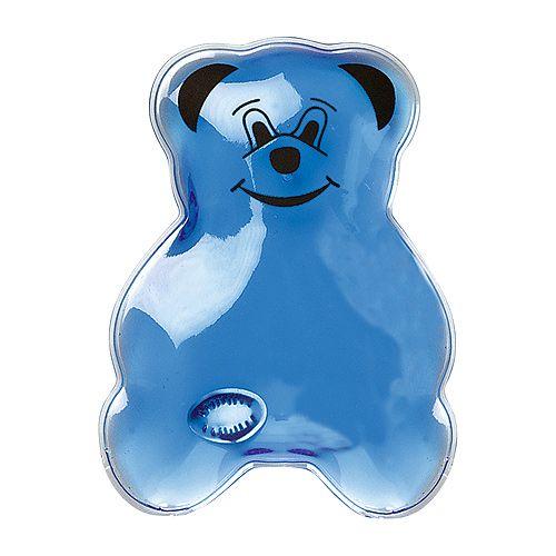Gel-Wärmekissen Bär, Gel blau, 16P PVC