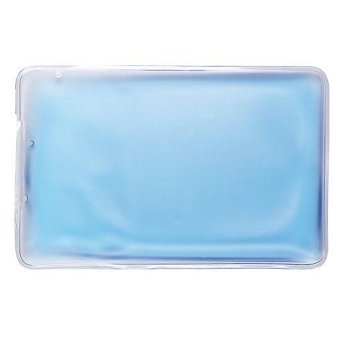 Kühl-/Wärmekissen Relieve, rechteckig, blau, 16P PVC