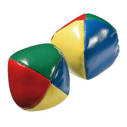 Jonglierbälle-Set Clown groß, bunt