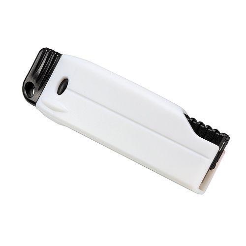 Cuttermesser Grip, weiß/schwarz