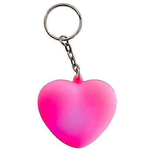 Schlüsselanhänger Atmospere Herz, weiß