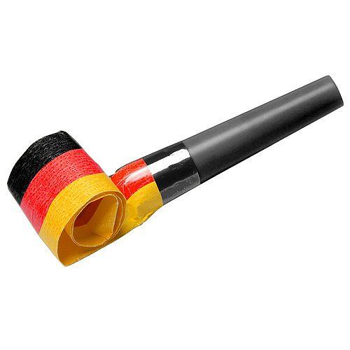 Luftrüssel Fan Deutschland, schwarz/rot/gelb