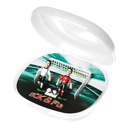 KICK & FUN Version 5, Box transparent-milchig