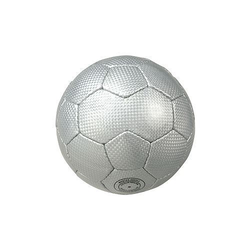 Fußball Mini Carbon, silber