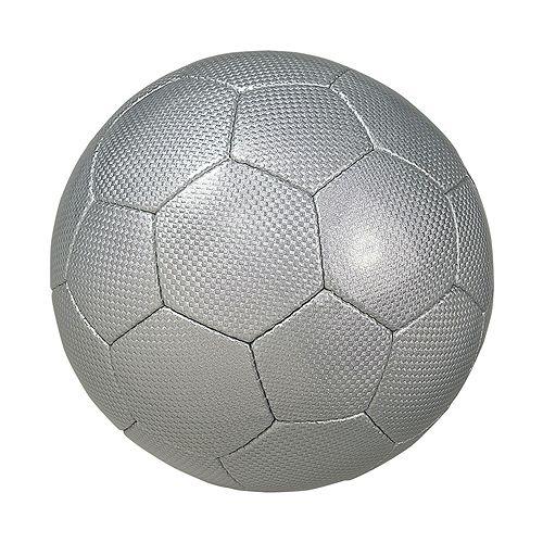 Fußball Big Carbon, silber