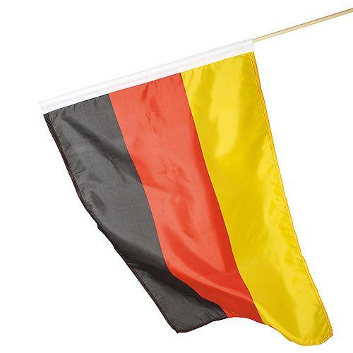 Fahne Deutschland, Holzstab