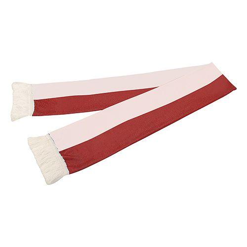 Schal Nations Polen, weiß/rot