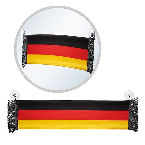Fensterschal Deutschland, schwarz/rot/gelb, NEU !