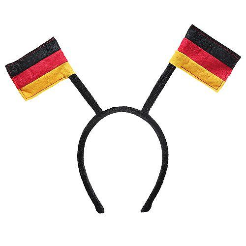 Haarreif Nations - Germany, schwarz/rot/gelb