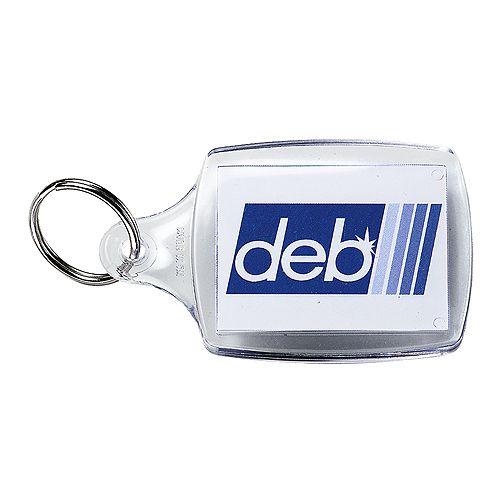 Schlüsselanhänger Inlay 45*35, transparent