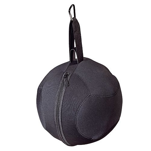 Fußballtasche Champion, schwarz