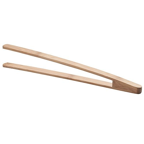 Grillzange Bambus,  natur