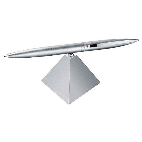 Kugelschreiber Magnetpyramide, silber