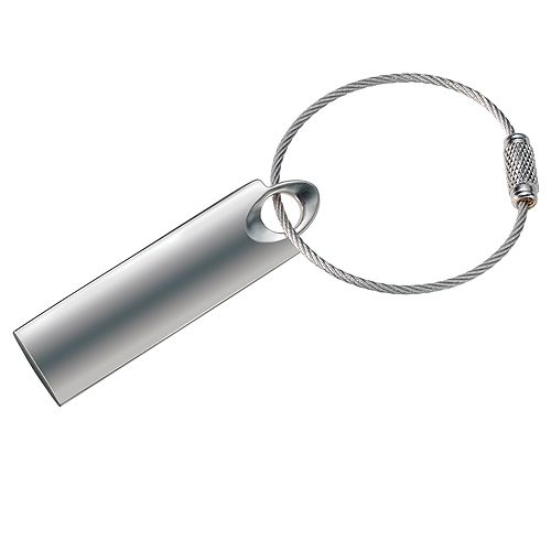 Schlüsselanhänger Label, silber, NEU !