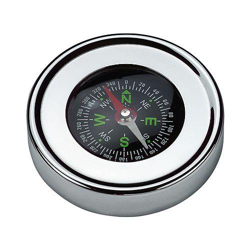 Kompass Metall, silber