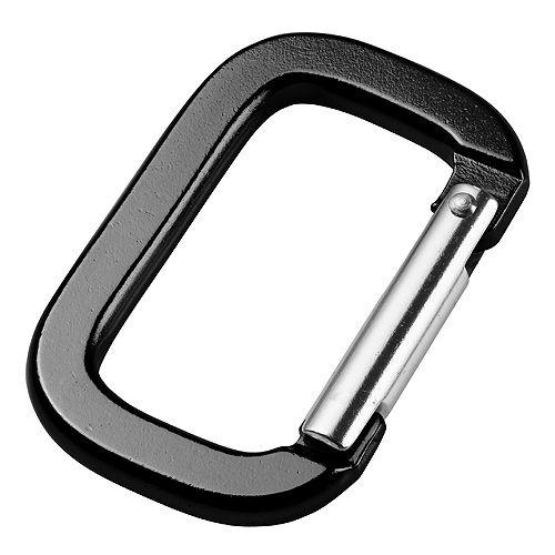Schlüsselanhänger Carabiner Vinson, schwarz