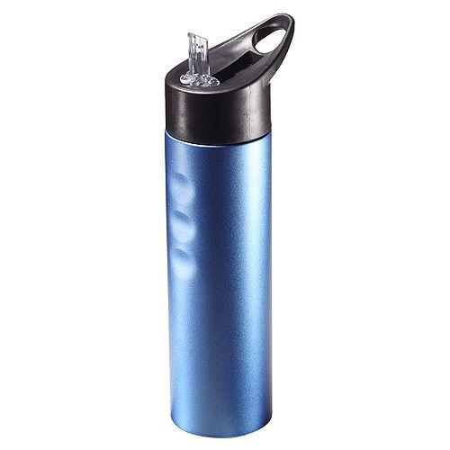 Trinkflasche Kansas, blau