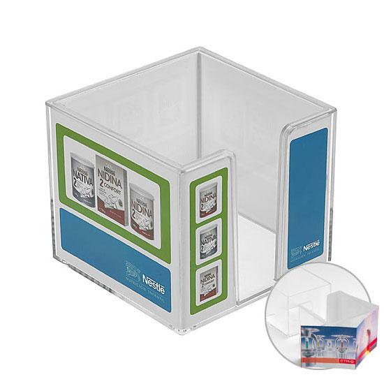 Zettelbox, doppelwandig