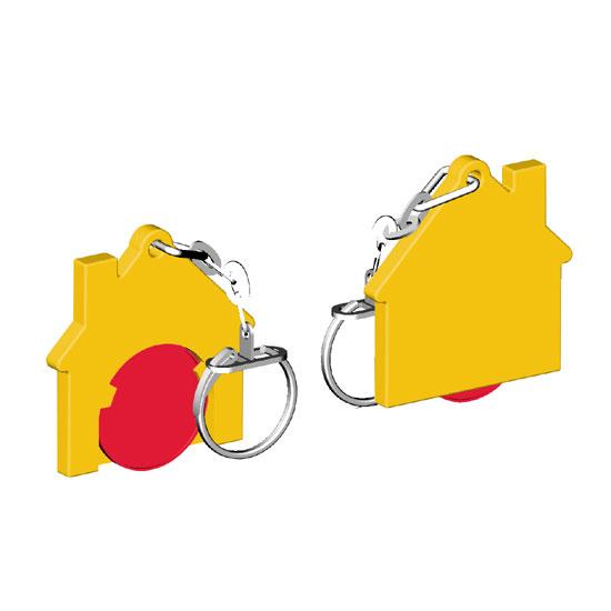 Chiphalter mit 1€-Chip Haus