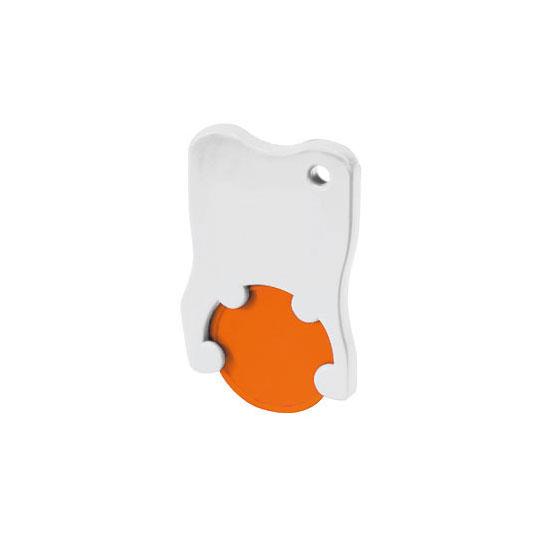 Chiphalter Zahnform mit 1€-Chip